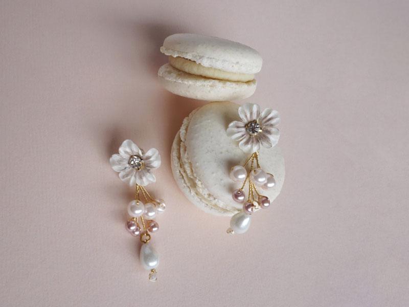 Excremento niebla Oral  Aretes de novia   Pierina Nora - Vestidos de novia y accesorios